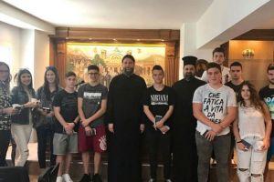Εκπαιδευτική Επίσκεψη Μαθητών Λυκείου από τη Ναύπακτο στην Ι.Μ. Νέας Ιωνίας και Φιλαδελφείας
