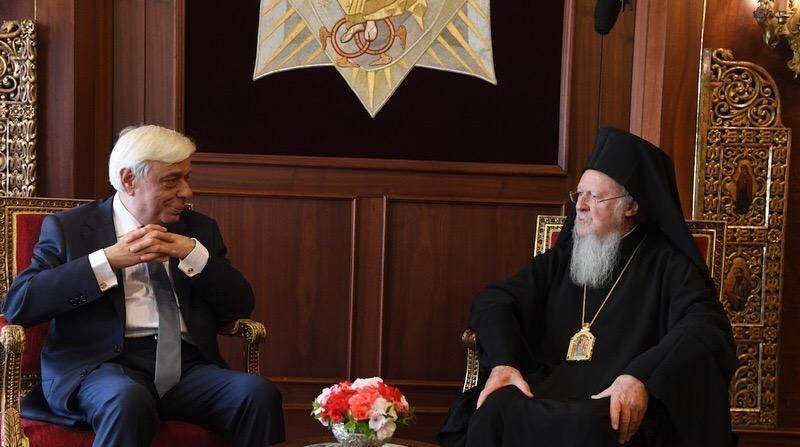 Πρώτη φορά ύστερα από 65 χρόνια Αρχηγός του Ελληνικού Κράτους στο Οικουμενικό Πατριαρχείο