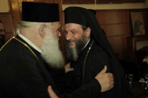Στον Αρχιεπίσκοπο Ιερώνυμο ο Αχρίδος Ιωάννης
