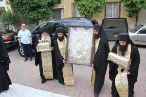 Η θαυματουργός εικόνα της Θεοτόκου και Ιερά Σεβάσματα στον Βύρωνα