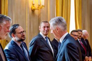 Ο Βασιλεύς του Βελγίου συνάντησε τους εκπροσώπους των αναγνωρισμένων Θρησκειών