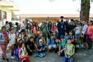 Με τη συμμετοχή 1.300 παιδιών η λήξη των Κατηχητικών Συνάξεων της Ι.Μ. Κίτρους