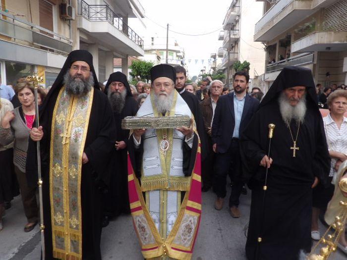 Στην Κόρινθο Ιερά Λείψανα της Αγίας Φωτεινής της Σαμαρείτιδος