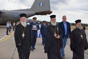 Υποδοχή πεσόντων στρατιωτικών στην Κύπρο