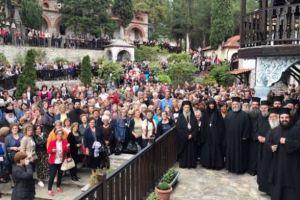 Ο Λαρίσης Ιγνάτιος στις Σέρρες γα τη λήξη των εσπερινών κηρυγμάτων