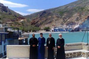 Ο Μητρολίτης κ. Δωρόθεος Β' στην Ιερά Νήσο Μήλο