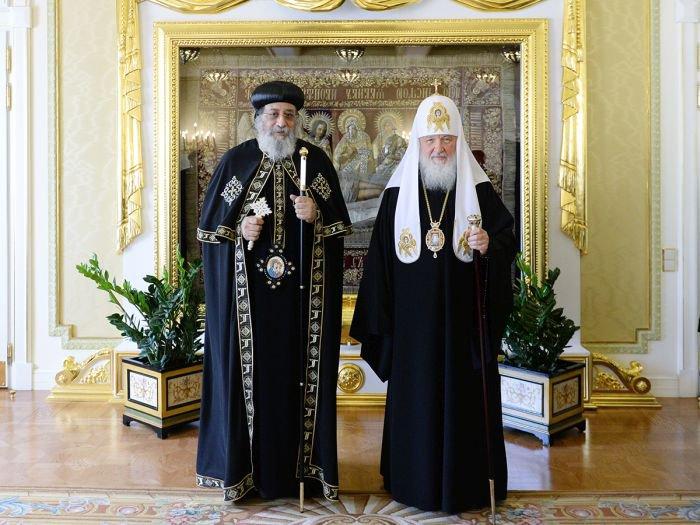 Η τρομοκρατία κυριάρχησε στη συνάντηση του Ρώσου με τον Κόπτη Πατριάρχη