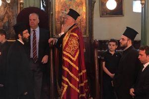 Ο Οικ. Πατριάρχης στον πανηγυρίζοντα Ναό Θείας Αναλήψεως Υψωμαθείων
