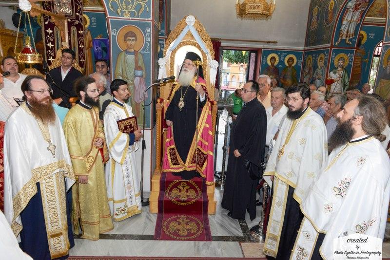 Δημητριάδος Ιγνάτιος: «Θησαυρός μας η ορθοδοξία» Μεγάλη Πανήγυρις των Αγίων Αποστόλων στην Αγριά