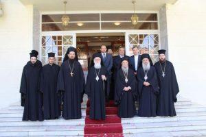 Στη Λάρισα ο Αρχιεπίσκοπος Αλβανίας Αναστάσιος