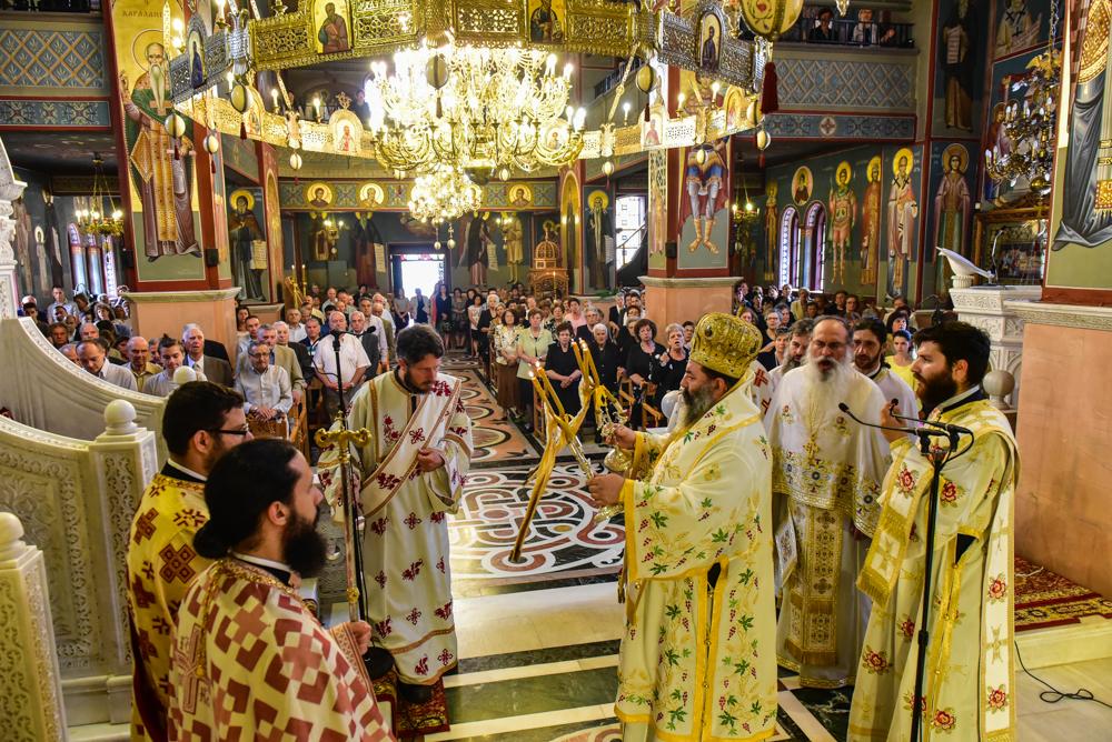 Η εορτή της Πεντηκοστής στην Ι. Μ. Λαγκαδά