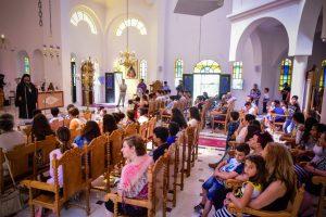 Αρχιερατική Θεία Λειτουργία στην Ι. Μ. Λαγκαδά αφιερωμένη στα παιδιά και στους νέους
