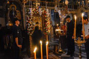Ιερά Πανήγυρι της Παναγίας του Άξιον Εστί εις τον Ιερό Ναό του Πρωτάτου Αγίου Όρους