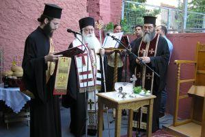 Ευλογία ιατρικών στολών επί τη μνήμη του Αγίου Λουκά του Ιατρού στο Βόλο