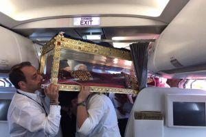 Το ταξίδι της επιστροφής για την Αγία Ελένη