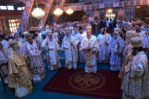 Αρχιερατικό Συλλείτουργο για την εορτή του Ιδρυτού της Εκκλησίας της Κύπρου