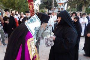 Τα λείψανα των Κορινθίων Αγίων υποδέχτηκαν στον Άγιο Παύλο Κορίνθου