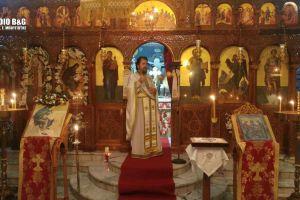 Ιερά Αγρυπνία επί τη εορτή του Αγίου Νικοδήμου στην Αγία Τριάδα Μιδέας
