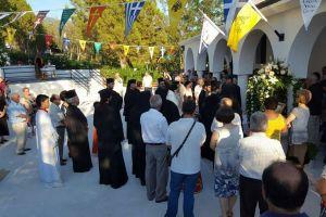 Τελέσθηκαν τα Θυρανοίξια του Ιερού Ναού της Αγίας Κυριακής στο Βόλο