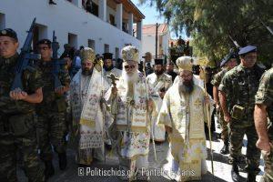 Χίος: Λαϊκό προσκύνημα στην Αγία Μαρκέλλα-Ο Σμύρνης Βαρθολομαίος στον πανηγυρικό
