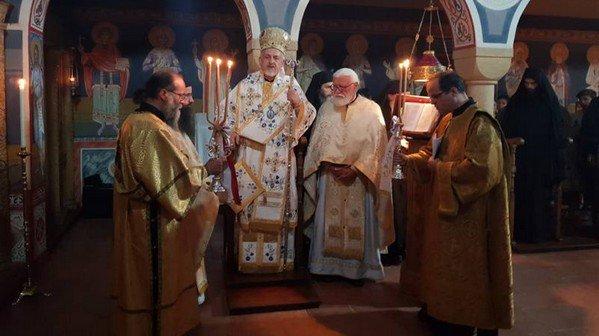 Σε Ιερά Μονή των Γαλλικών Άλπεων ο Μητροπολίτης Γαλλίας κ. Εμμανουήλ