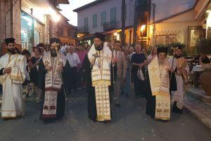 Λαμπρή η πανήγυρη της μεγαλομάρτυρος Αγίας Κυριακής στη Δημητσάνα