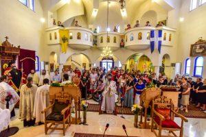 Εορτή ευρέσεως των Λειψάνων του Αγ. Ραφαήλ στα Λαγυνά