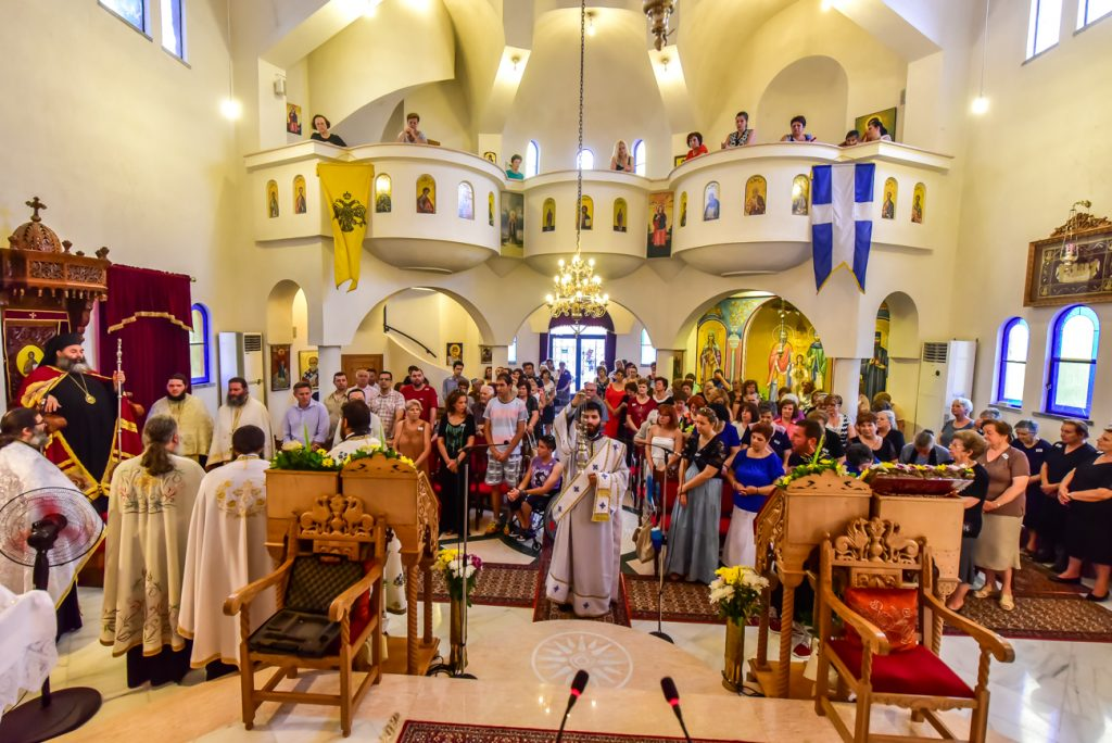 You are currently viewing Εορτή ευρέσεως των Λειψάνων του Αγ. Ραφαήλ στα Λαγυνά
