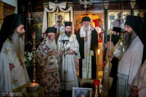 Ο Αρχιεπίσκοπος στο Μνημόσυνο της Καθηγουμένης της Ιεράς Μονής Ιερουσαλήμ Δαυλείας