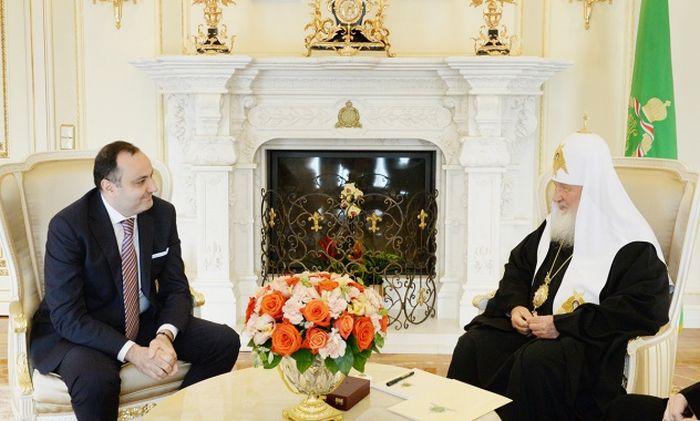 Ρωσίας Κύριλλος: «Αποδίδω πολύ μέγαλη σημασία στις σχέσεις με την Αρμενική Αποστολική Εκκλησία»
