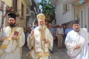 Η Σκιάθος τίμησε την πολιούχο της Παναγία την Εικονίστρια