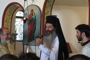 Ο Πρωτοσύγκελλος της Αρχιεπισκοπής Αθηνών στον Άγιο Σίλα Νέας Πεντέλης