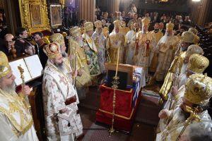 Συλλείτουργο και μνημόσυνο για τον Αρχιεπίσκοπο Μακάριο στη Μονή Κύκκου