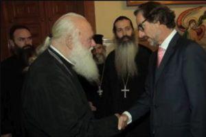 Συνάντηση του Αρχιεπισκόπου με τον Γερμανό Πρέσβη