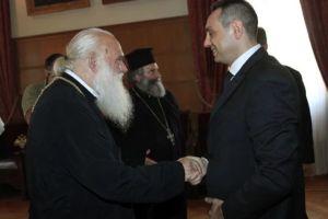 Αρχιεπίσκοπος Ιερώνυμος: «Σεβόμαστε το Κοσσυφοπέδιο, όπως την δική μας Ακρόπολη»