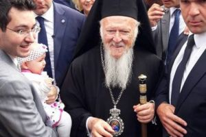 Οικουμενικός Πατριάρχης: Επίσκεψη στην Ιερά Μονή Βλατάδων