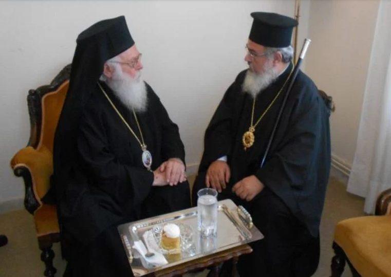 Ο Αρχιεπίσκοπος Αλβανίας στην Πρέβεζα