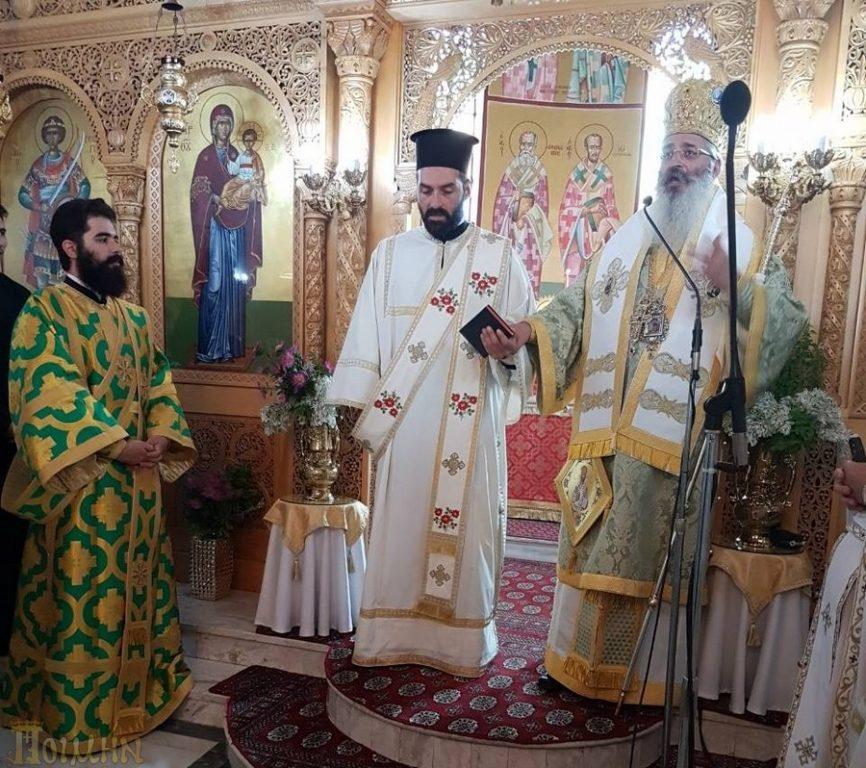 Χειροτονία νέου ιεροδιακόνου στην Μητρόπολη Αλεξανδρουπόλεως