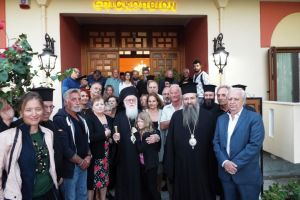 Την Μητρόπολη Λευκάδος επισκέφτηκε ο Αρχιεπίσκοπος Αλβανίας