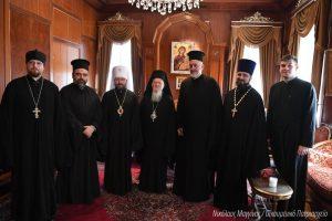 Ο Μητροπολίτης Βολοκολάμσκ Ιλαρίων στο Οικουμενικό Πατριαρχείο