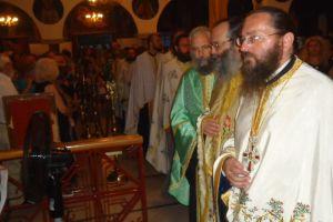 Πανηγυρικά εορτάσθηκε στον Ι. Ν. Εσταυρωμένου Ταύρου η Υψωσις του Τ.Σταυρού.