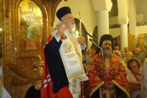 Εορτασμοί στην Αγία Σοφία Ταύρου