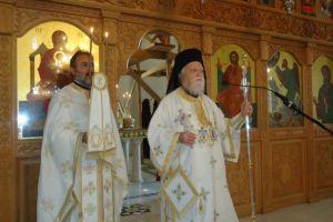 Ο Αρχιεπίσκοπος Κύπρου Χρυσόστομος  ετέλεσε τα ιερά  Μνημόσυνα των γονέων του.