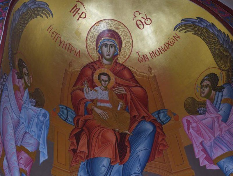 Μεθέορτος Εσπερινός και Κτητορικόν Μνημόσυνον στην Ιερά Μονή Παναγίας Γοργοεπηκόου – Μάνδρας