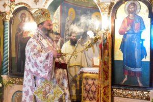 Στον Ιερό Ναό του Αγίου Δημητρίου του Μυροβλύτου Χρυσαυγής, Ιερούργησε ο Σεβασμιώτατος Μητροπολίτης Λαγκαδά, Λητής και Ρεντίνης κ.κ. Ιωάννης.