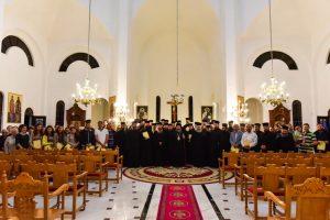 Αγιασμός εις τον Ιερό Ναό των Θεοφανείων των Λουτρών Λαγκαδά