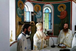 Εγκαινιάστηκε ο Ναός της Αγίας Ειρήνης στην Ανακασιά