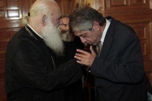 Συνάντηση Αρχιεπισκόπου με τους Πρέσβεις Παλαιστίνης και Καζακστάν