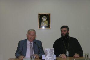 """Η παρουσίαση του βιβλίου"""" Άξιος- Ιερέας Ανδρέας Σωτηρόπουλος"""" στον Άγιο Γεώργιο Ζωγράφου."""