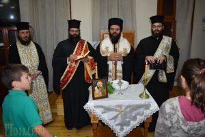 Αγιασμός στην Σχολή Βυζαντινής Μουσικής της Ι.Μ. Μαρωνείας